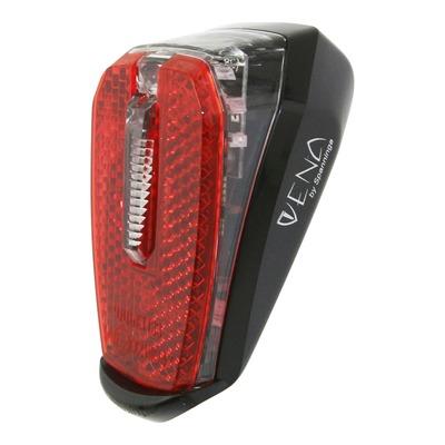 Éclairage arrière Spanninga Vena XD/XE noir (à dynamo ou batterie VAE)