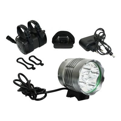 Éclairage avant à led ultra puissant gris (à batterie)