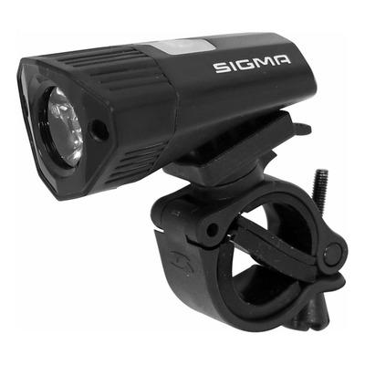 Éclairage avant Sigma Buster 100 visibilité 35m noir (à batterie)