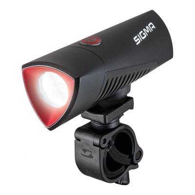 Éclairage avant Sigma Buster 700 visibilité 100m noir (à batterie)