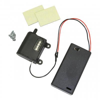 Éclairage de plaque Replay LED noir