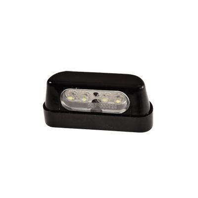 Éclairage de plaque tun'R a LED noir