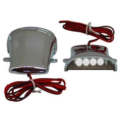 Éclairages décoratifs Replay sous tablier chrome LEDS blanches
