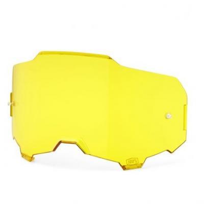 Écran 100% pour masque Armega jaune