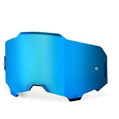 Écran 100% pour masque Armega miroir bleu