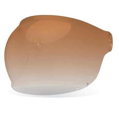 Ecran Bell Bubble pour Bullitt - ambre dégradé - fermeture noire