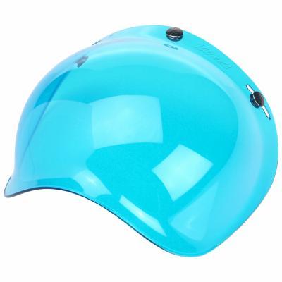 Ecran bubble antibuée Biltwell bleu