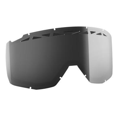Écran double Works Scott pour masque Hustle/Split OTG Light Sensitive gris