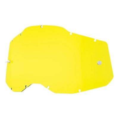 Écran masque cross 100% RC2/AC2/ST2 jaune