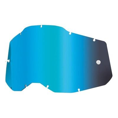 Écran masque cross 100% RC2/AC2/ST2 Iridium bleu