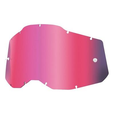 Écran masque cross 100% RC2/AC2/ST2 Iridium rose