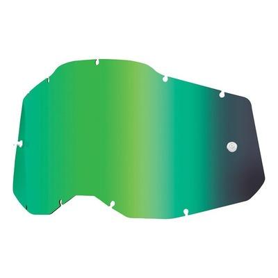 Écran masque cross 100% RC2/AC2/ST2 Iridium vert