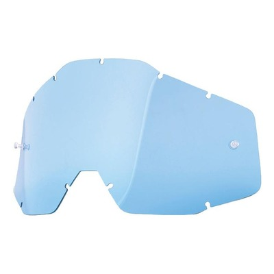 Écran masque cross 100% RC2/AC2/ST2 bleu