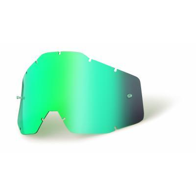 Ecran masque cross 100% vert miroir/fumé