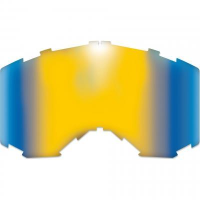 Écran miroir injecté AKA bleu/jaune