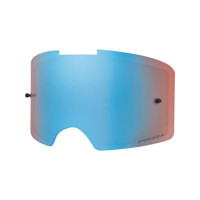 Écran Oakley Front Line Prizm MX sapphire iridium