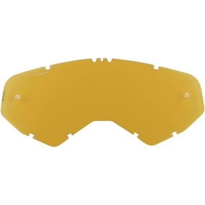 Écran pour masque cross Moose Racing XCR jaune