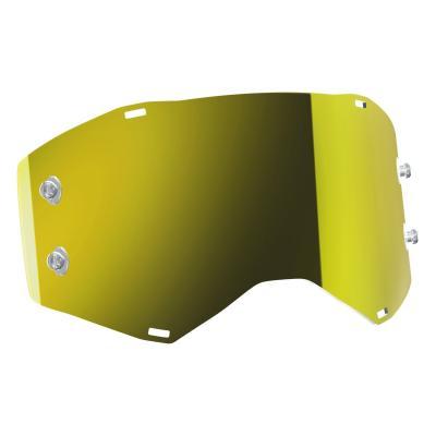 Écran Works Scott pour masque Prospect chrome jaune