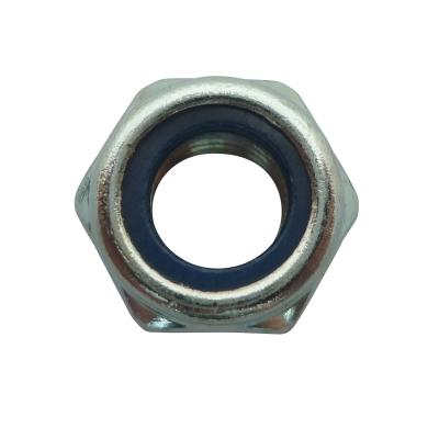 Écrou Algi 6 pans nylstop diamètre 8 - boite de 100