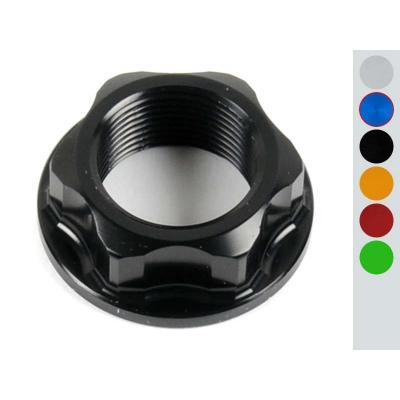 Ecrou de colonne de direction Lightech aluminium bleu pour Yamaha MT-10 16-17