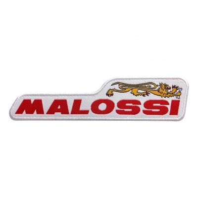 Écusson Malossi avec bordure dorée