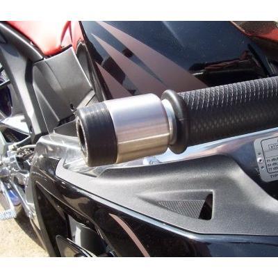 Embouts de guidon R&G Racing noir Aprilia RS 125 02-12