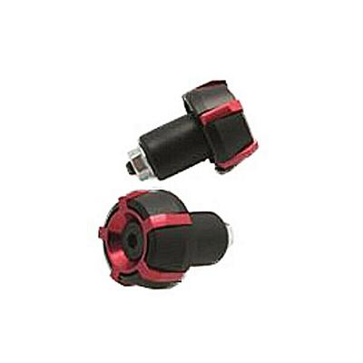 Embouts de guidon Spark Ø18mm Noir/Rouge