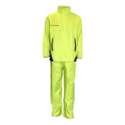 Ensemble de pluie S-Line Veste et pantalon jaune fluo