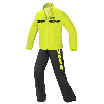Ensemble pluie Spidi Sport Rain Kit jaune fluo