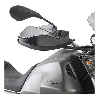 Extensions pour protège-mains d'origine Givi Moto Guzzy V85 TT 2019 fumé