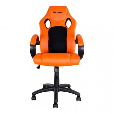 Fauteuil Bike It orange / noir avec accoudoir