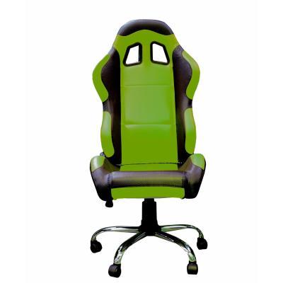 Fauteuil de bureau Paddock vert / noir