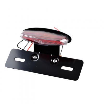 Feu arrière 9 LEDS avec support et éclaireur de plaque