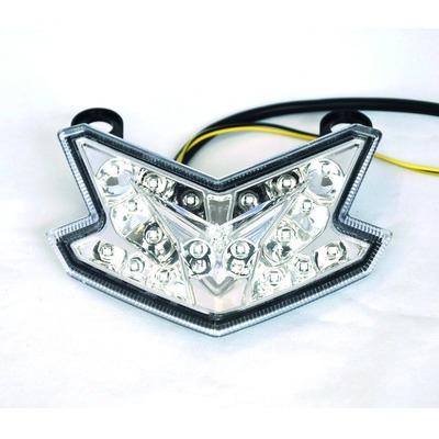 Feu arrière à LED avec clignotants intégrés pour Kawasaki ZX6R 636 13-14