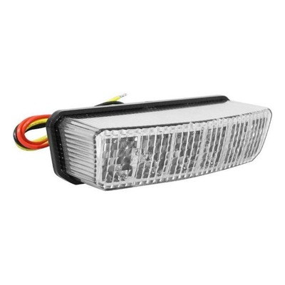 Feu arrière blanc Replay pour Beta RR 18- / Derbi 50 GPR 10- / 125 GPR 11-