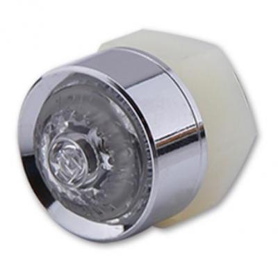 Feu arrière Highsider Mono LED chromé