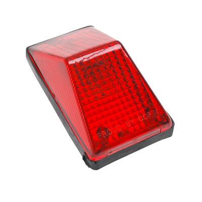 Feu arrière Replay XR type enduro rouge