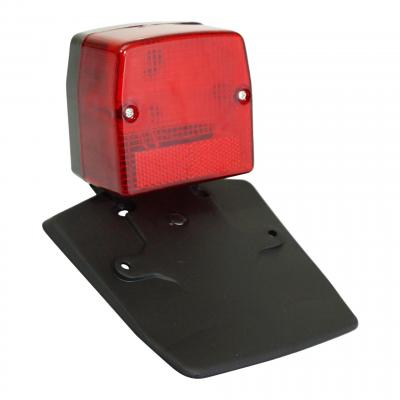 Feu arrière rouge avec bavette Peugeot 103 SPX / RCX - MBK 51S