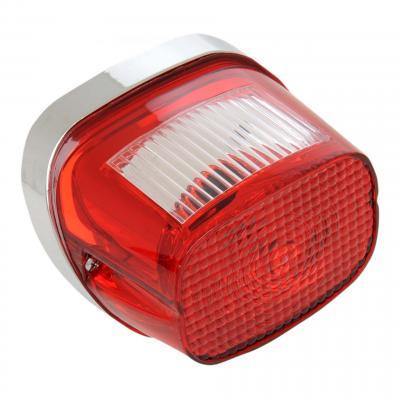Feu de signalisation arrière type origine Harley Davidson 07-19 éclairage de plaque supérieur rouge