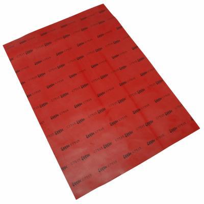 Feuille toile de membrane 210x300 mm Solex rouge
