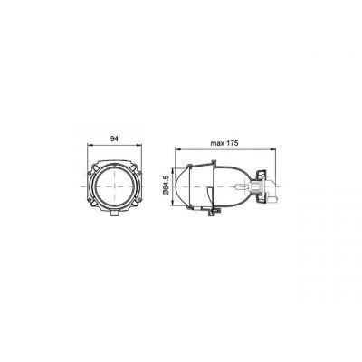 Feux de croisement Poly-ellipsoidal