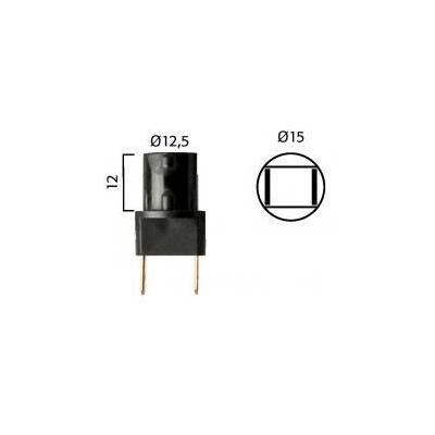 Fiche ampoule Flosser type W2.1x9.5D raccord type cosse