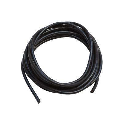 Fil de bougie noir D.7mm longueur de 5m