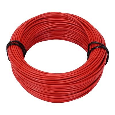 Fil électrique 1,50mm2 rouge 50m
