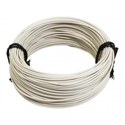 Fil électrique 12-10 x1,00mm blanc 50m