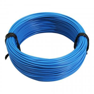 Fil électrique 12-10 x1,00mm bleu 50m