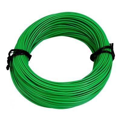 Fil électrique 12-10 x1,00mm vert 50m