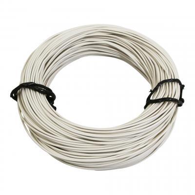 Fil électrique 7-10 x0,50mm blanc 50m