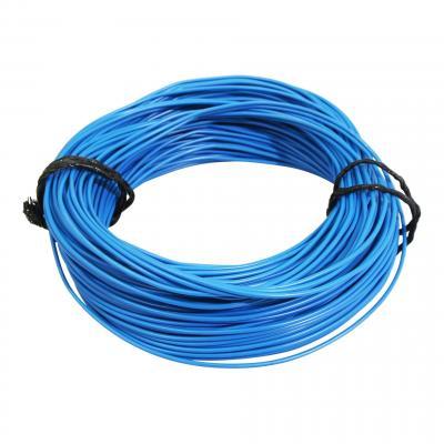 Fil électrique 7-10 x0,50mm bleu 50m