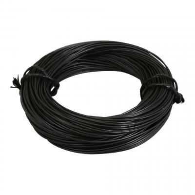 Fil électrique 7-10 x0,50mm noir 50m